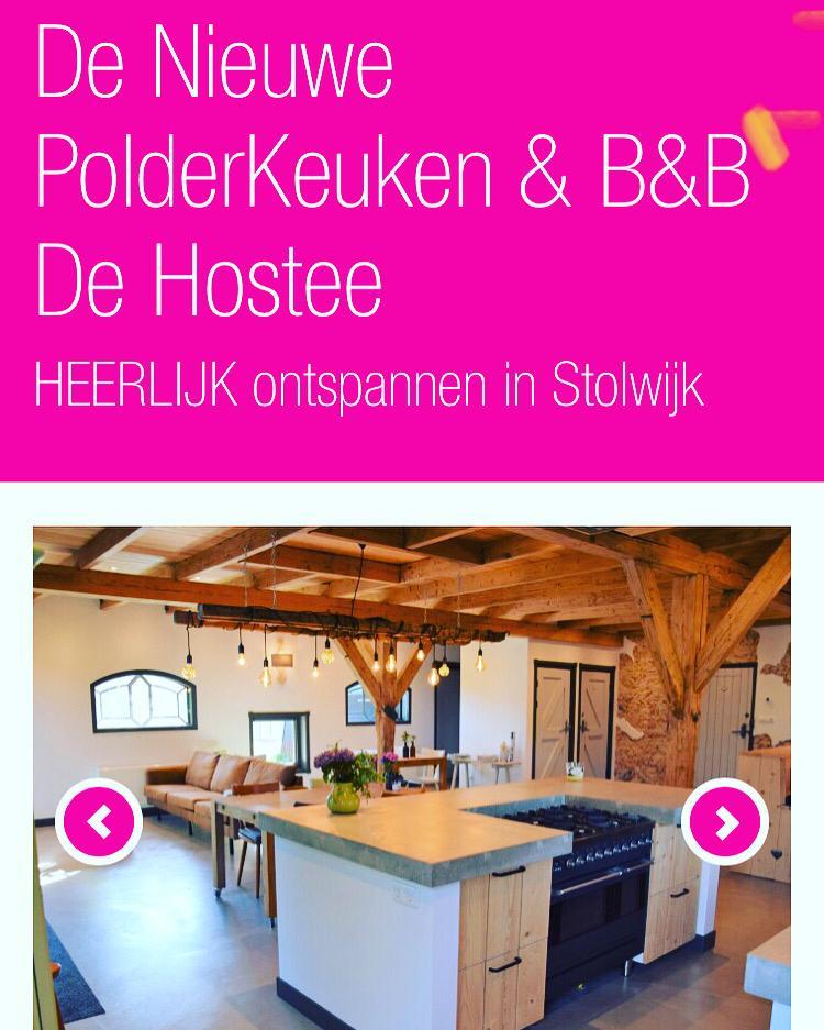 arrangement met nieuwe polder keuken
